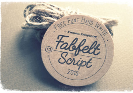 Fabfelt script : Une bien belle typographie gratuite à télécharger 1