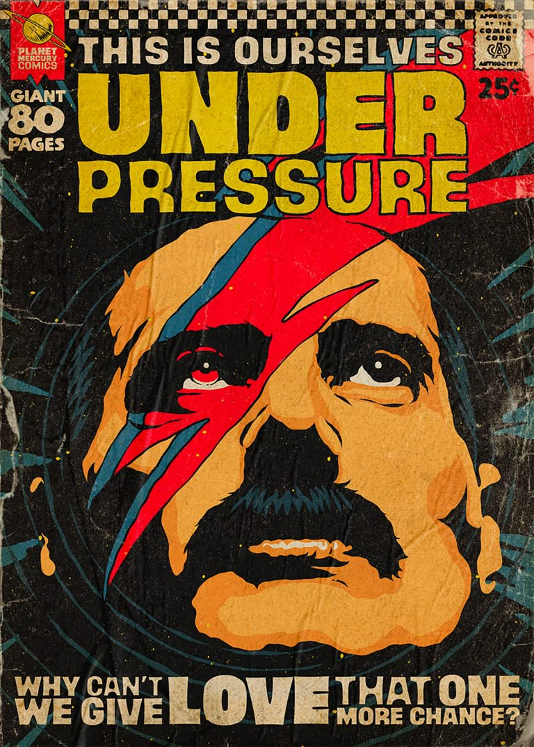 Pop Culture : Illustration de Freddie Mercury en mode comics ! 2