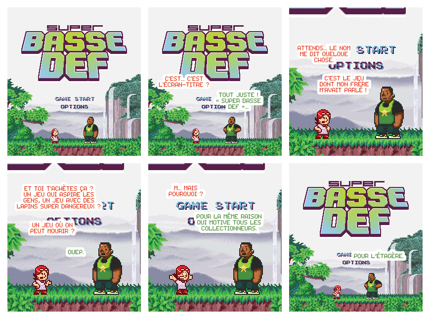 Gagnez la Nouvelle BD Jibé Super Basse Def et son jeu NES ! (Concours + Interview) 2