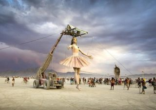 Les sculptures du Burning Man 2019 en 4K 1