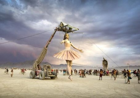 Les sculptures du Burning Man 2019 en 4K 9
