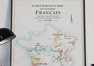 Affiche Carte des Vins de France 3