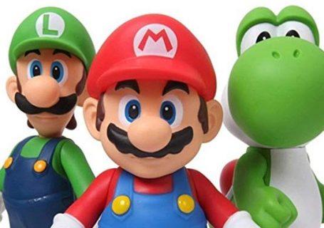 Figurines Mario Bros Luigi Yoshi 2