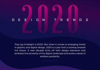 Les tendances graphiques et webdesign pour 2020 1