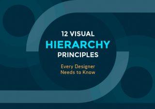Infographie : 12 Principes de hiérarchie visuelle que tous les webdesigners doivent connaître 1
