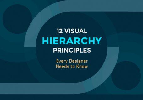 Infographie : 12 Principes de hiérarchie visuelle que tous les webdesigners doivent connaître 9