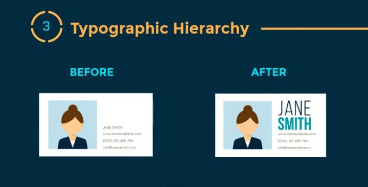 Infographie : 12 Principes de hiérarchie visuelle que tous les webdesigners doivent connaître 5