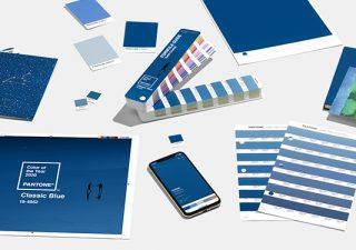 Couleur Pantone 2020 - Classic Blue 19-4052 1