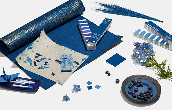 Couleur Pantone 2020 - Classic Blue 19-4052 6