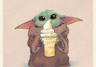 Les illustrations trop mignonnes de Baby Yoda 1