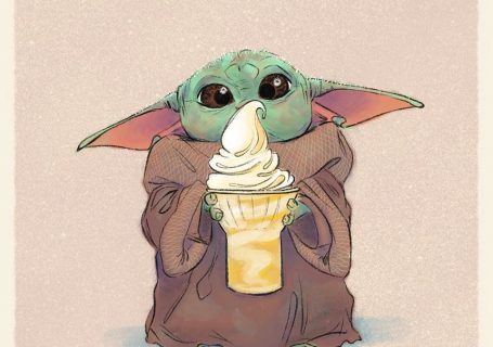 Les illustrations trop mignonnes de Baby Yoda