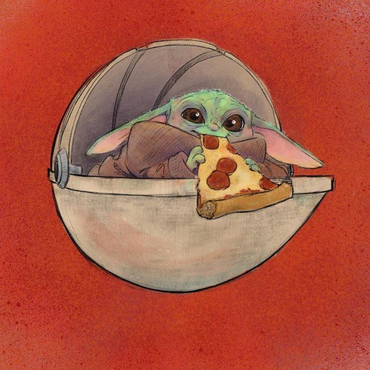Les illustrations trop mignonnes de Baby Yoda 9
