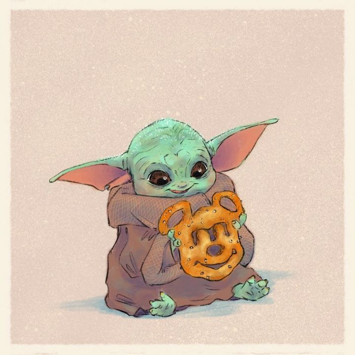Les illustrations trop mignonnes de Baby Yoda 10