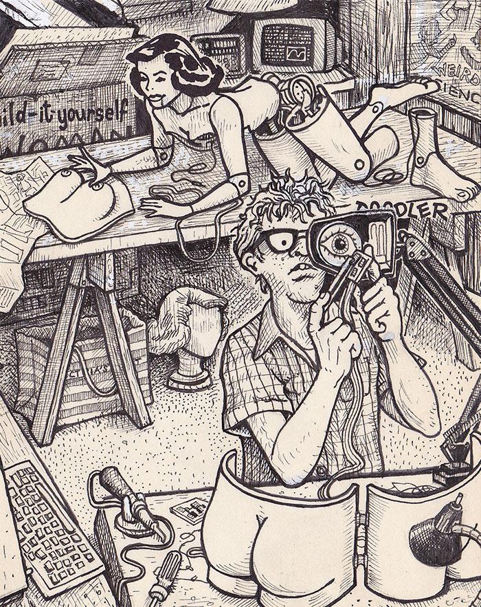 Créativité sans limite : 1 base 35 déclinaisons d'illustrations 7