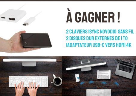 Gagnez 250€ de lots (clavier bluetooth, disque dur externe 1To... #11ansOlybop 1