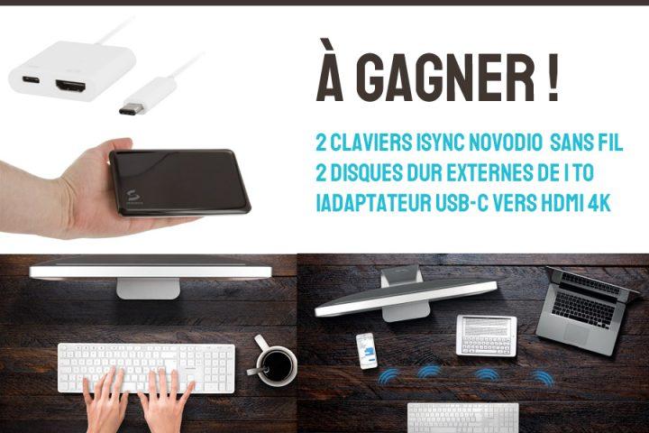 Gagnez 250€ de lots (clavier bluetooth, disque dur externe 1To... #11ansOlybop 2