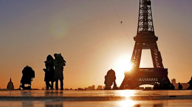 Photoréalisme Star wars à Paris 4
