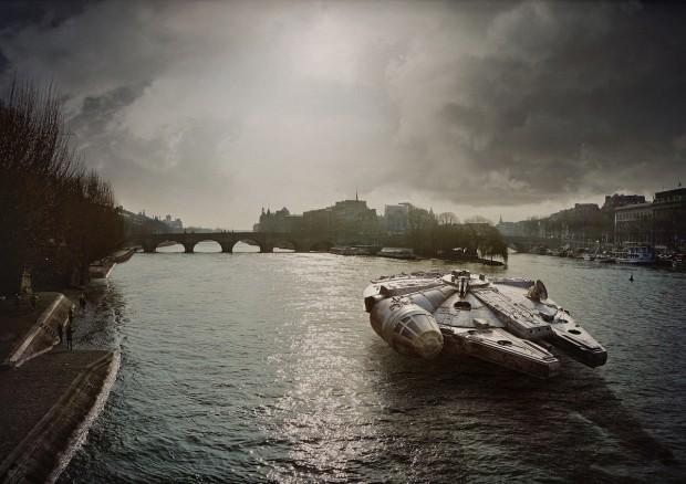 Photoréalisme Star wars à Paris 5