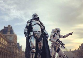 Photoréalisme Star wars à Paris 1