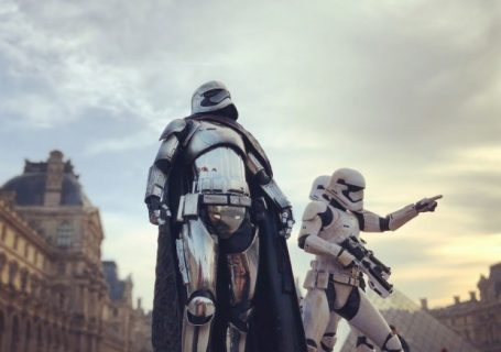 Photoréalisme Star wars à Paris 2