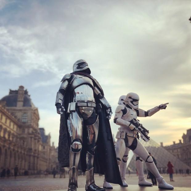 Photoréalisme Star wars à Paris 6