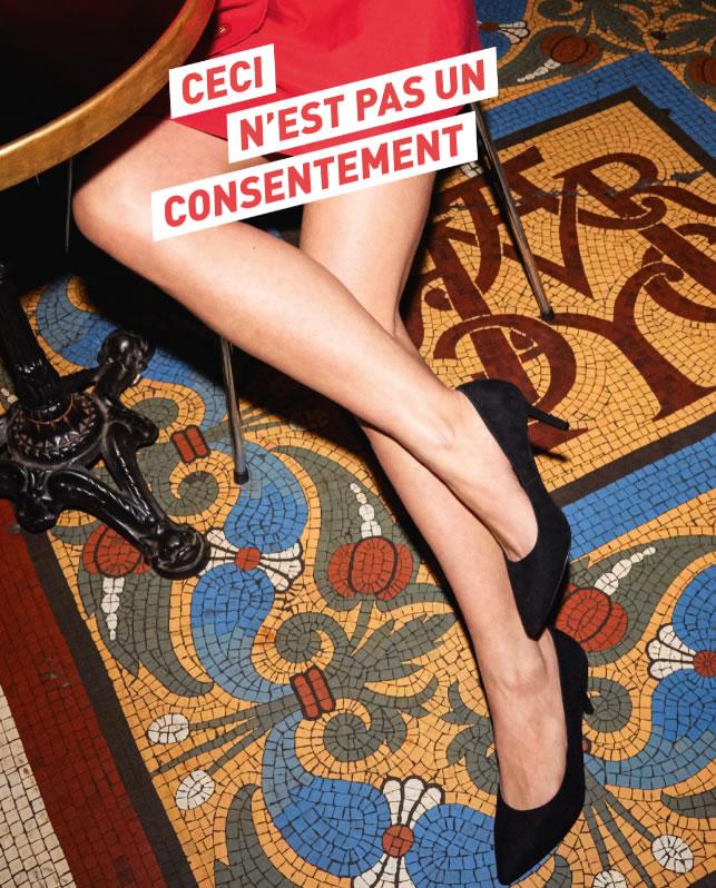 Ceci n'est pas un consentement - La campagne Choc 3