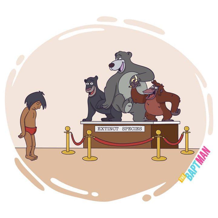 Illustrations de films version désastres écologiques 16