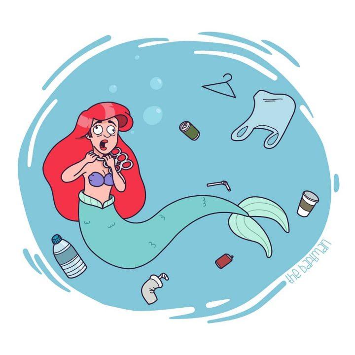 Illustrations de films version désastres écologiques 4