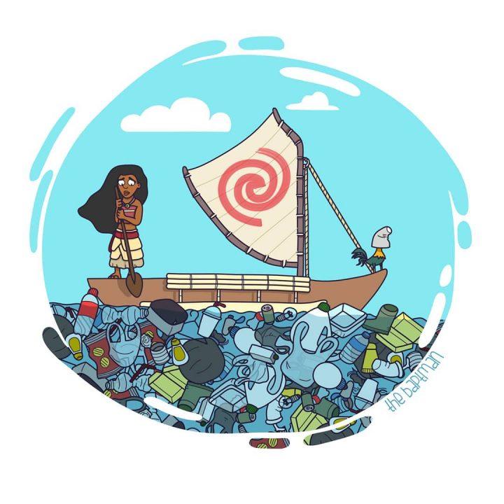 Illustrations de films version désastres écologiques 6