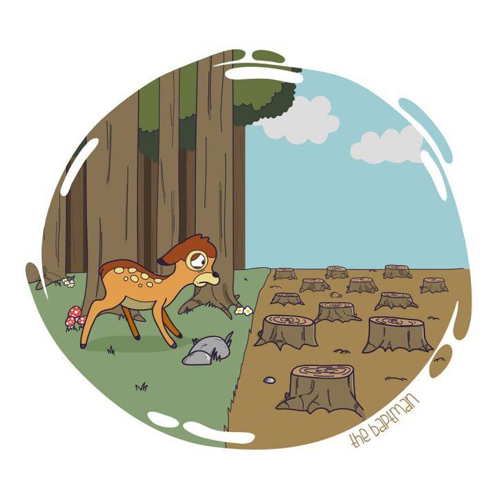 Illustrations de films version désastres écologiques 7
