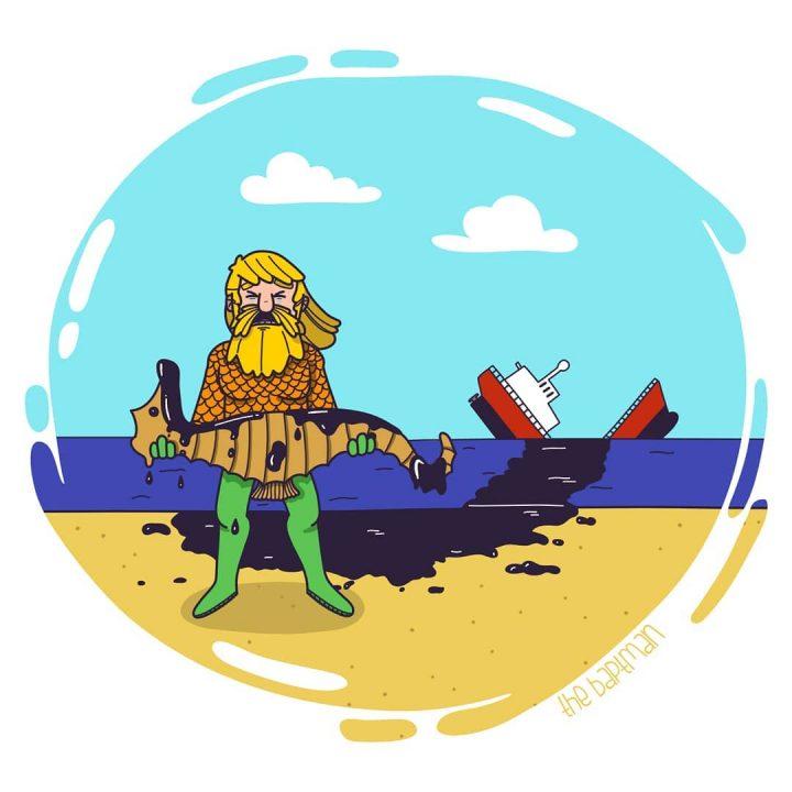 Illustrations de films version désastres écologiques 8
