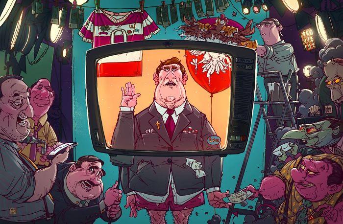 Les illustrations satiriques sur notre société actuelle 15