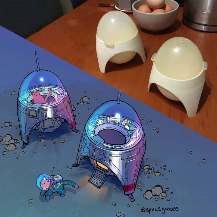 Quand les objets se transforment en super vaisseaux de la mort ! 4