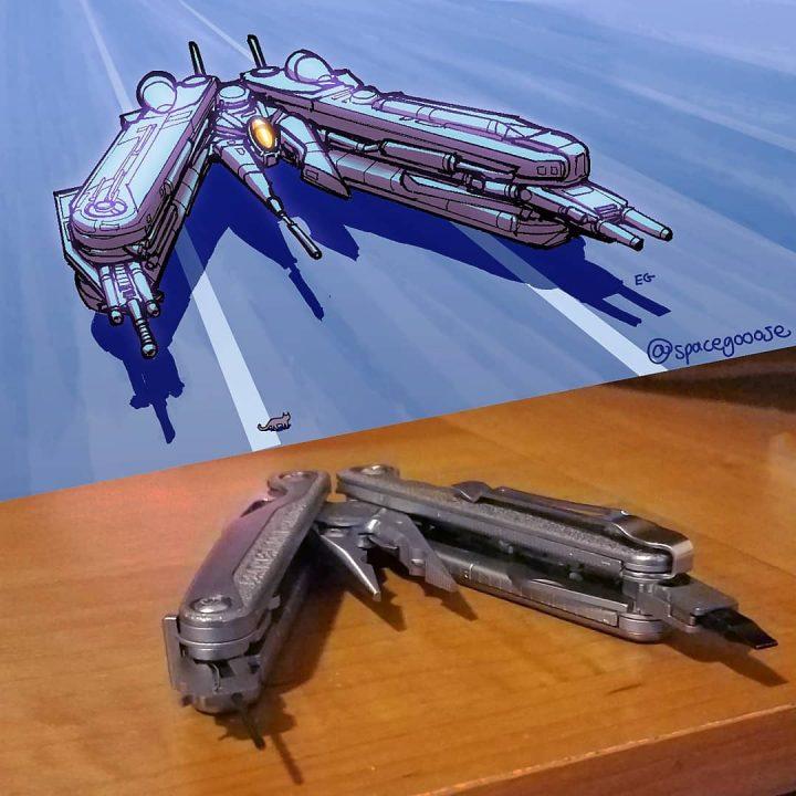Quand les objets se transforment en super vaisseaux de la mort ! 8