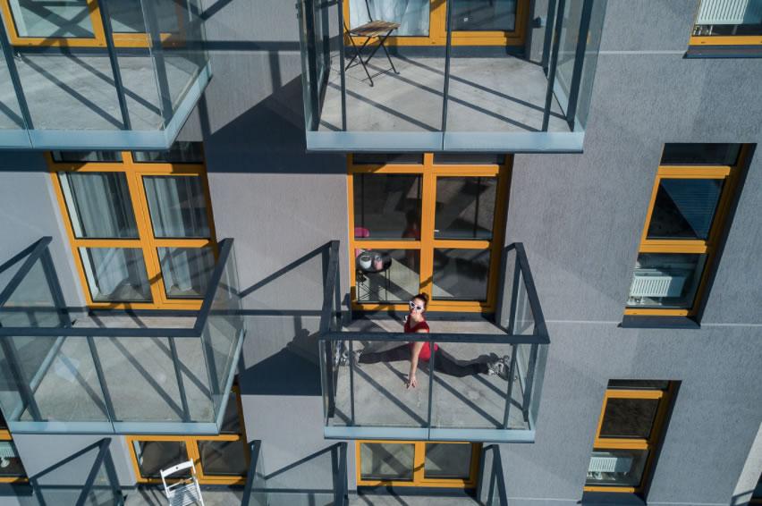 Photos funs avec un drone pendant le confinement du Covid_19 4