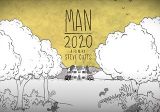 Animation sur le monde en confinement de Steve Cutts 1