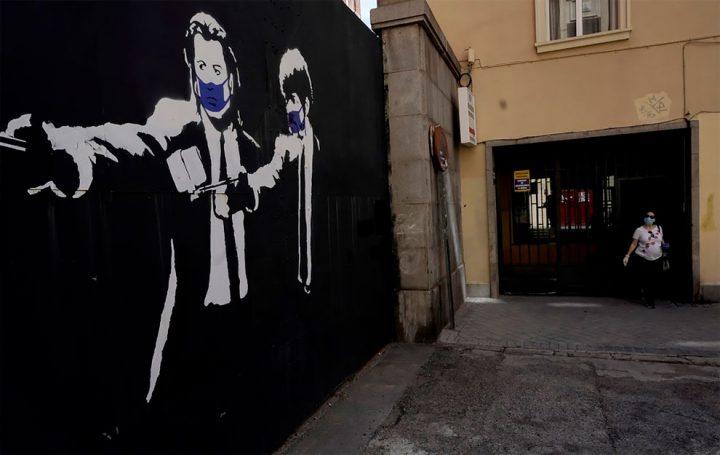 Le Covid19 inspire aussi le Streetart ! 11