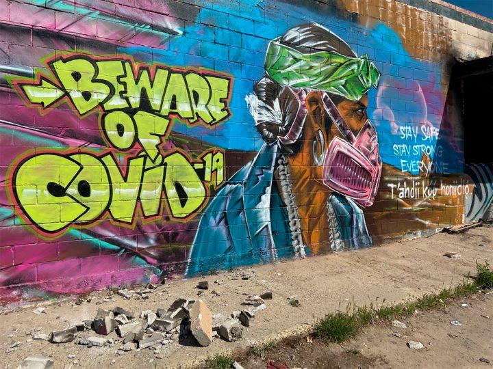 Le Covid19 inspire aussi le Streetart ! 17