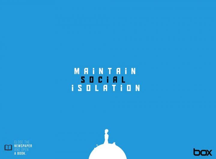 Inspiration et graphisme de 75 affiches d'Avril 2020 25