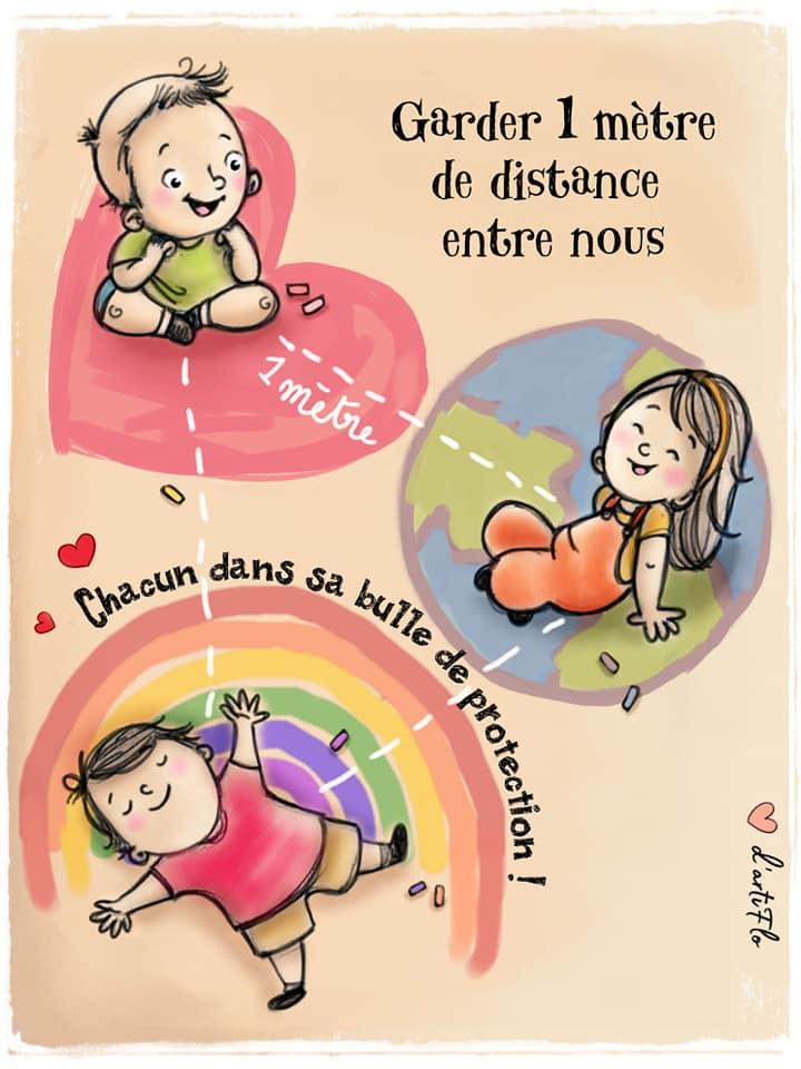Illustrations pour les enfants et la reprise des cours 10