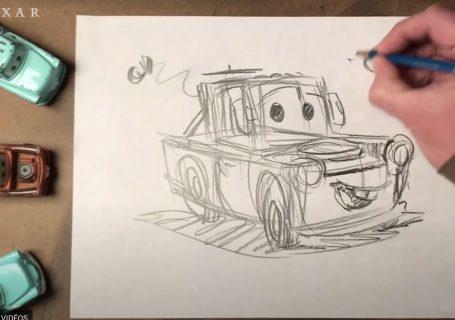 Comment dessiner simplement les personnages Pixar ?