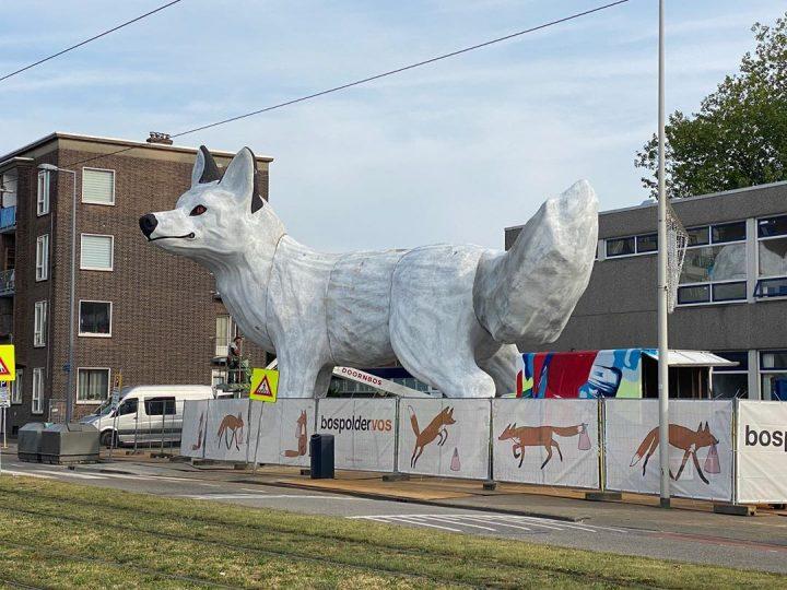 StreetArt - Renard Géant à Rotterdam par Florentijn Hofman 13