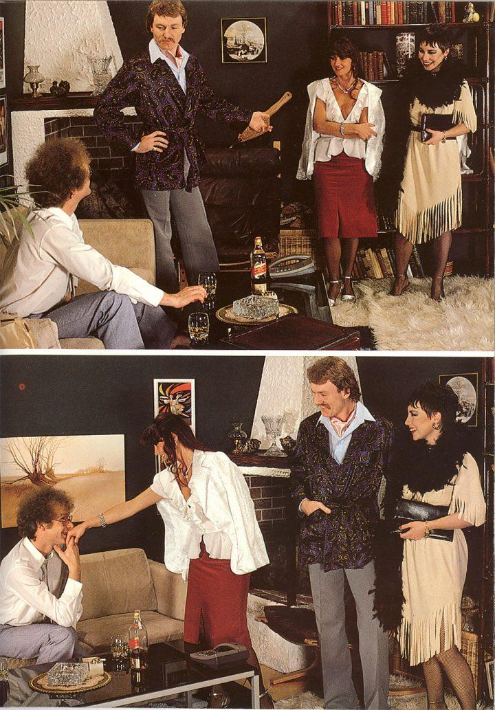 SFW - Le Porno Vintage des années 80 à quelque chose de Graphique 40