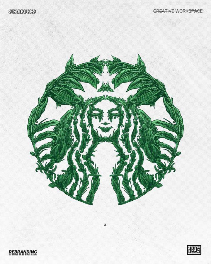 Redesign de Logos célèbres en version vachement plus fun 11