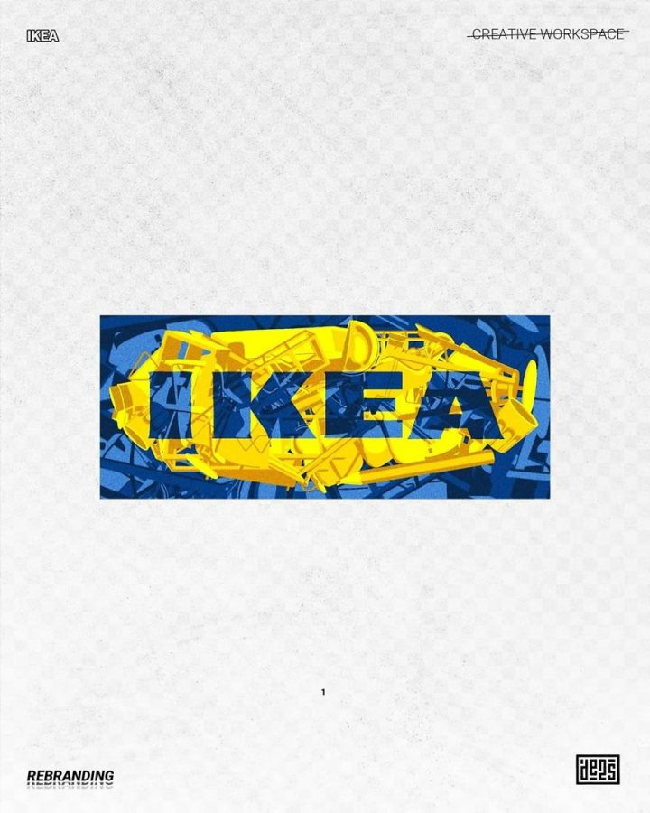 Redesign de Logos célèbres en version vachement plus fun 13