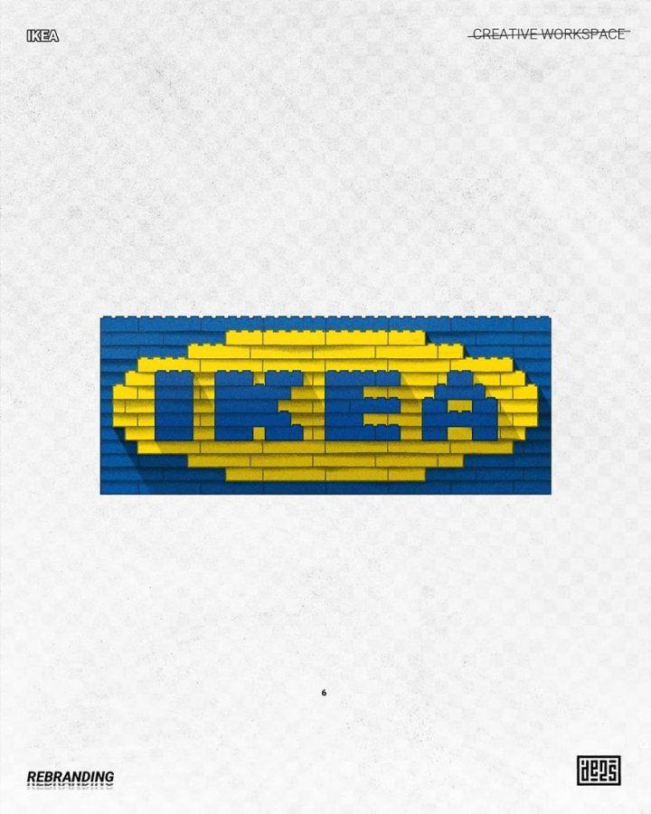 Redesign de Logos célèbres en version vachement plus fun 15
