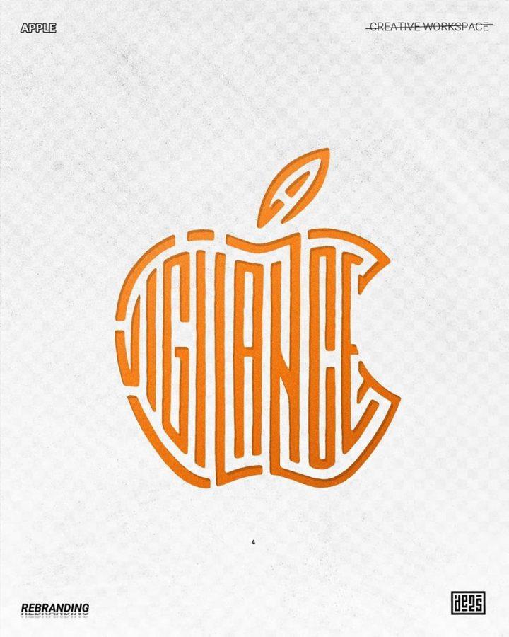 Redesign de Logos célèbres en version vachement plus fun 16