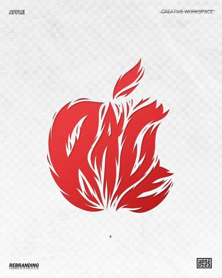 Redesign de Logos célèbres en version vachement plus fun 17