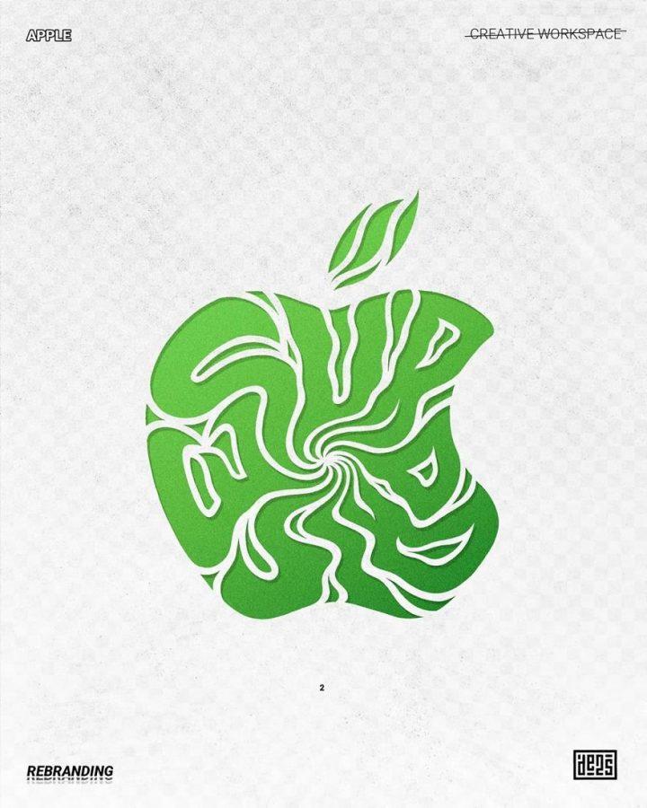 Redesign de Logos célèbres en version vachement plus fun 19