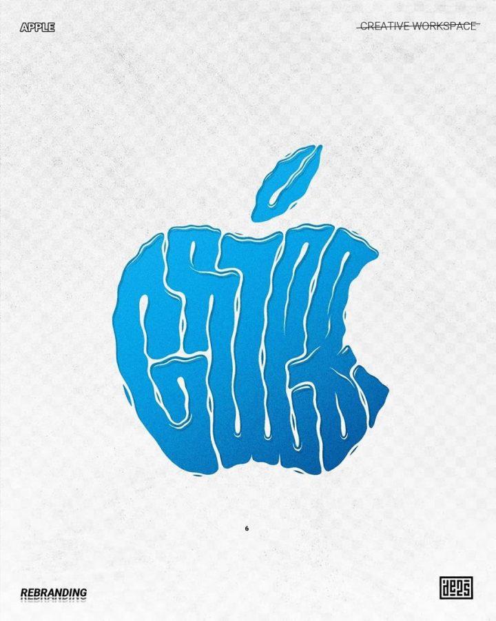 Redesign de Logos célèbres en version vachement plus fun 20